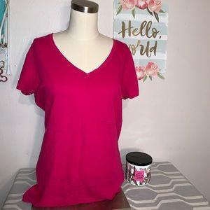 NWOT plain pink top